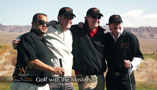 Nth 2012 - Drinking whisky and playing golf with the masters at the Ultimate Whisky Experience