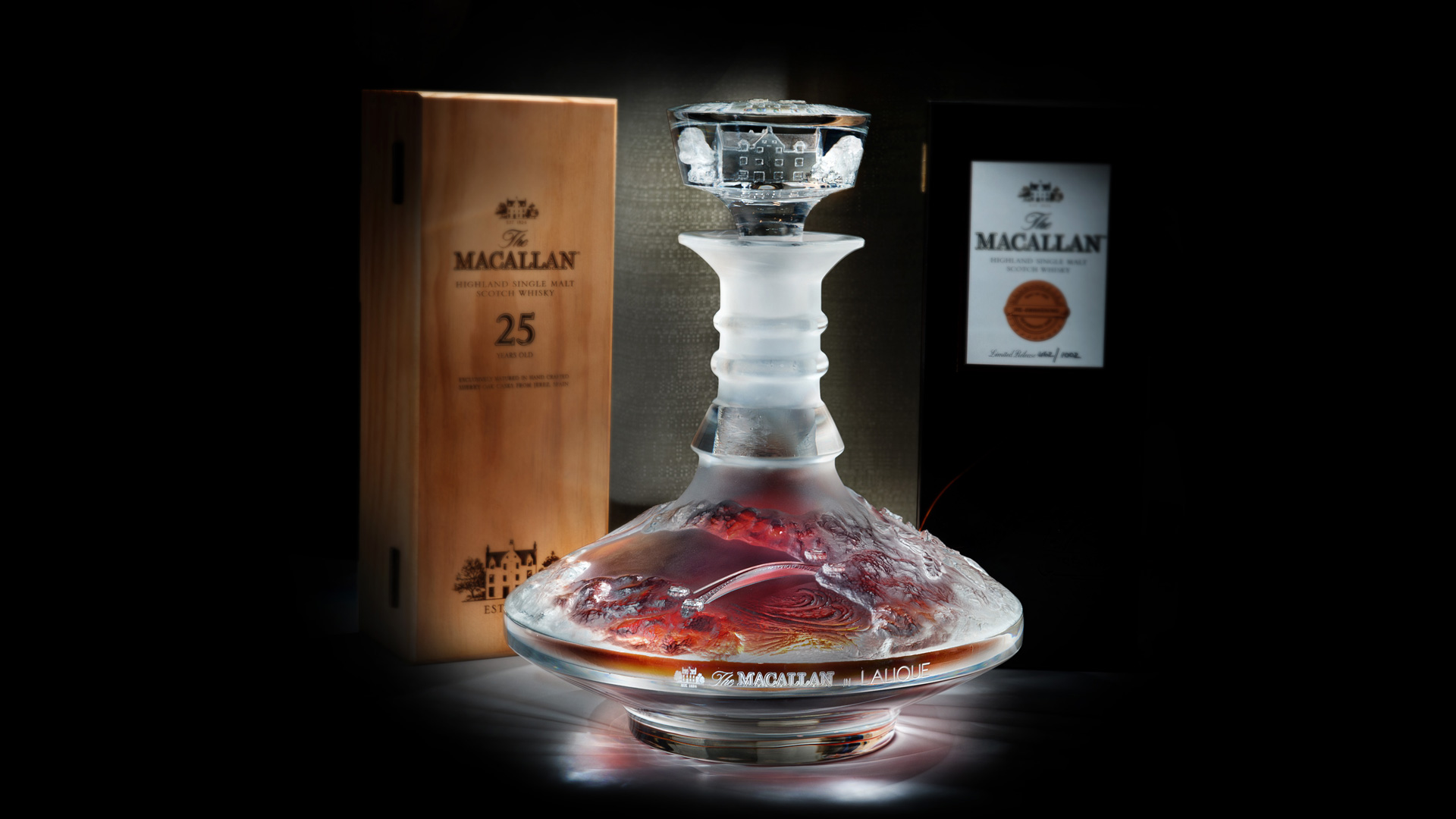 The Macallan Whiskey Lalique