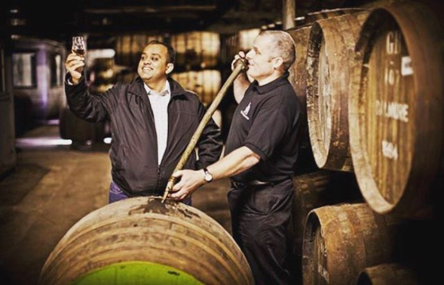 Scotland is home of whisky barrels