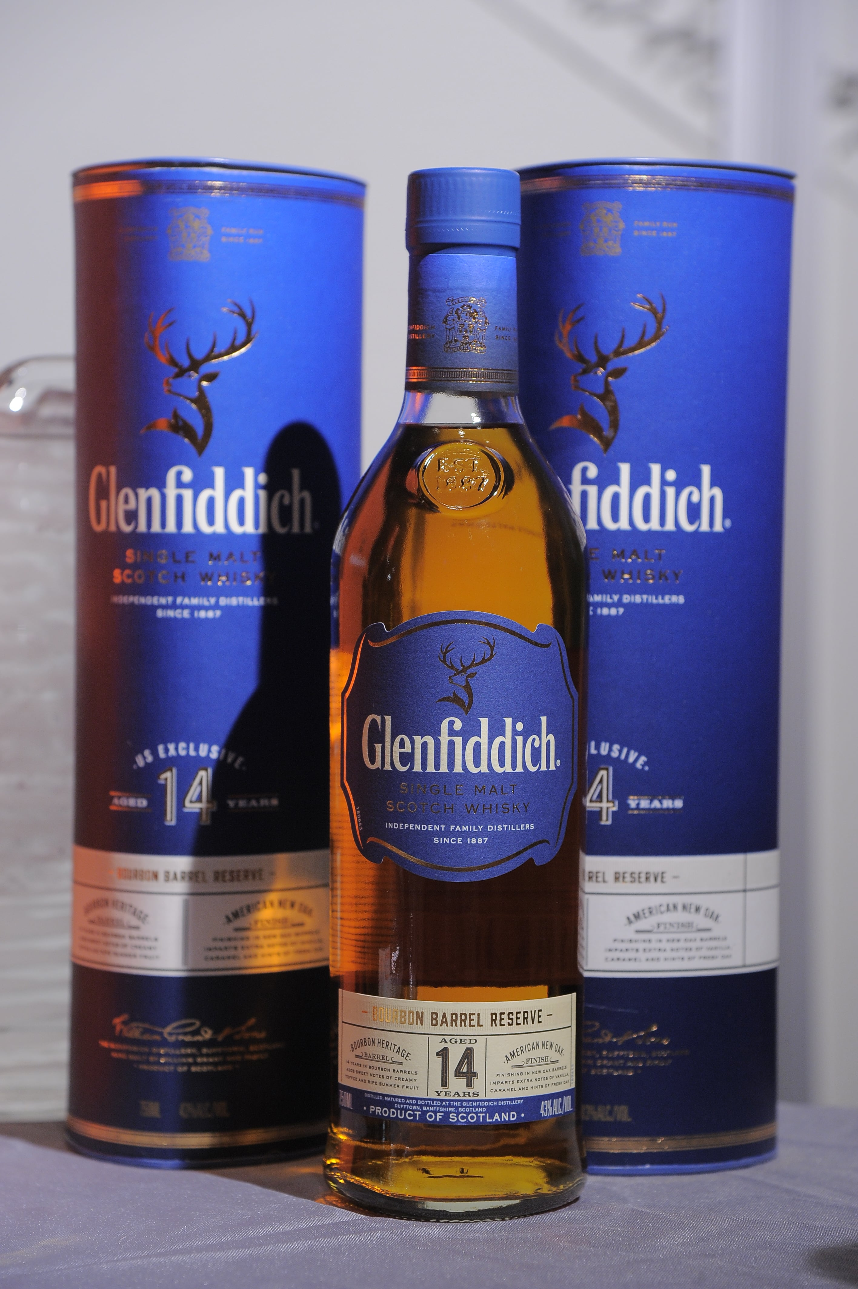 World-famous whisky brands